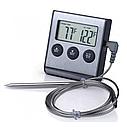 Термометр с проводным термосенсором и звуковым оповещением, фото 4