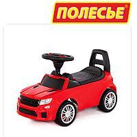 Детская машинка толокар Полесье SuperCar №6 красный