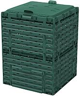 Компостер Piteco K2130 с крышкой 300 л, зелёный