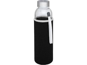 Спортивная бутылка Bodhi из стекла объемом 500 мл, черный