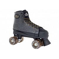 Ролики-квады Roller Skates Black Glamour, цвет чёрный, размер 36