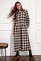 Женское осеннее платье Nova Line 50122 42р.