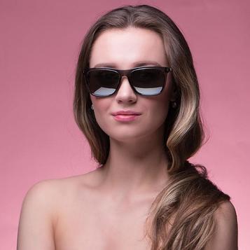 """Очки солнцезащитные """"Мастер К."""", поляризационные, 15х15х4.5 см, линза 4.5х5.5 см, серые"""