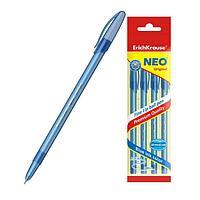 Ручка шариковая, узел 0.7 мм, тонкое письмо, ErichKrause Neo Original, чернила синие