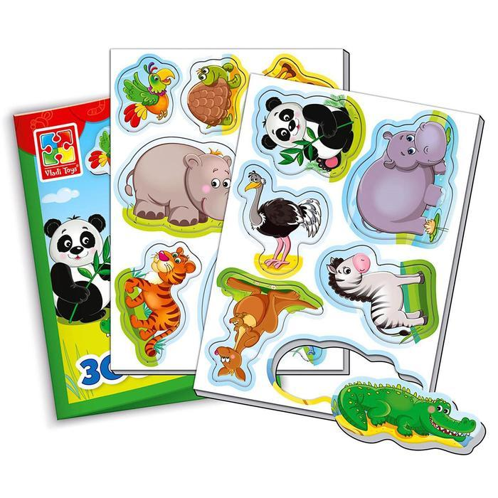 Магнитная игра «Зоопарк» - фото 2