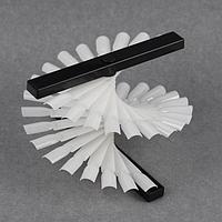 Палитра-стойка для демонстрации лаков, 36 типсов, цвет белый