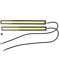 Дневные ходовые огни Skyway 12V 1 COB диод (~175х3х15 мм) 2шт