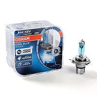 Лампа автомобильная Osram COOL BLUE, H4, 12 В, 60/55 Вт, 64193CBI, набор 2 шт