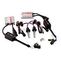 Автолампа би-ксенон H4 H/L, 12В 35Вт, 4300K, Skyway, комплект 2 шт + провод+2 блока розжига