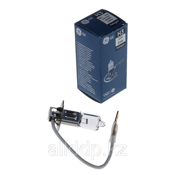 Лампа автомобильная General Electric, H3, 12 В, 55 Вт, PK22s