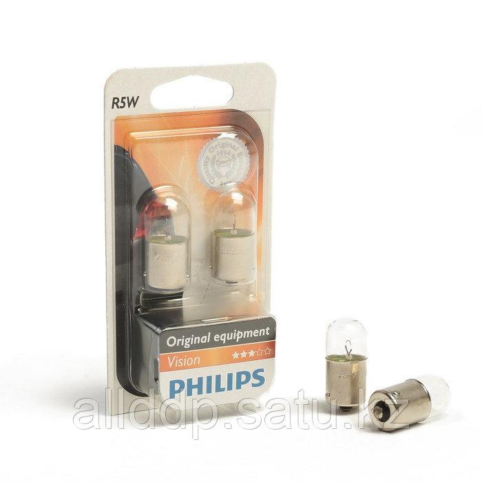 Автолампа PHILIPS, R5W (BA15s), 12 В, 12821 B2 2 шт.