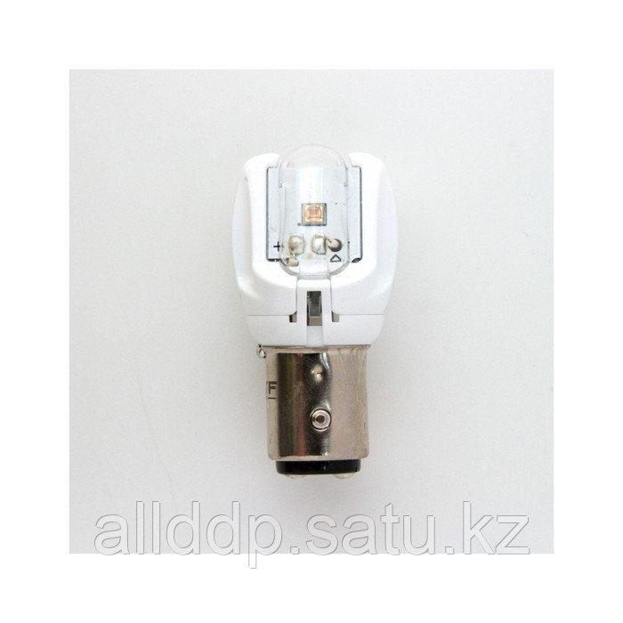 Светодиодная лампа MTF Light, P21/5W, 12 В, 2,6 Вт, БЕЛЫЙ