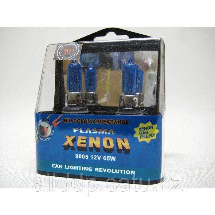Лампа автомобильная Eagleye, HB3/9005 12v 65wPLASMA XENON, набор 2 шт