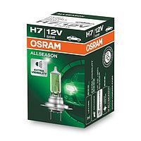 Лампа автомобильная Osram Allseason Ultra Life, H7, 12 В, 55 Вт, 64210ALL