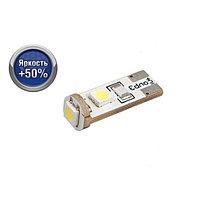 Лампа светодиодная Xenite CAN307 12V, T10/W5W CANBUS, яркость +50%, 2 шт