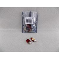 Лампа светодиодная 11-31 (SV8,5) 10 SMD 4014, CANBUS обманка, радиатор, 12В