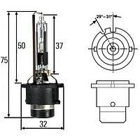 Лампа ксеноновая HELLA Xenon +30% D2R, 4300K, 35 Вт, 8GS 007 001-241