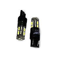 Лампа светодиодная AVS A78449S, T10 T104, белый (W2.1x9.5D) CANBUS, 18SMD 4014, 12-24 В, набор 2 шт