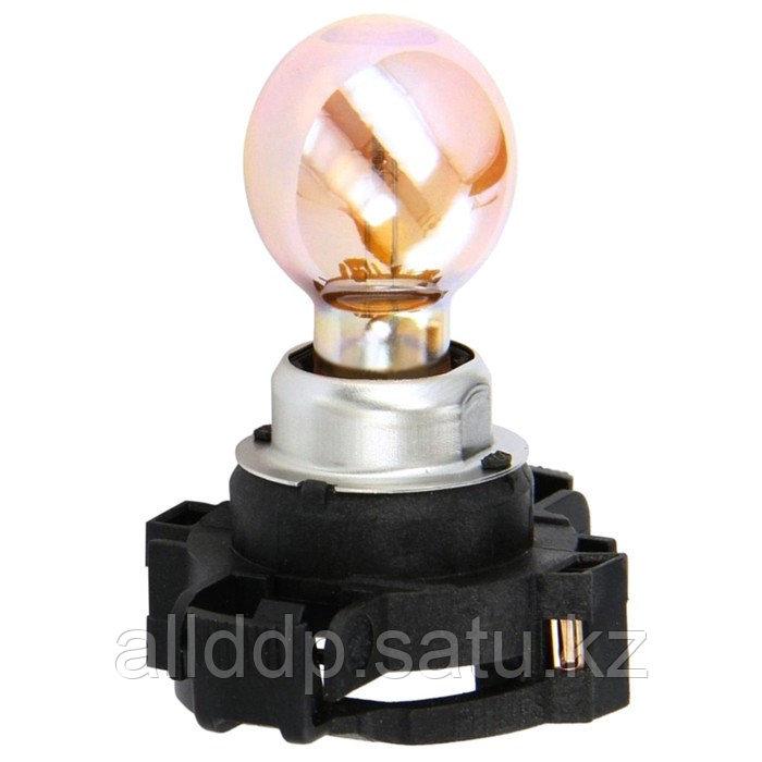 Лампа автомобильная Philips, PY24W, 12 В, 24 Вт, 12274SV+C1