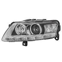 Фара головного света на Audi A6 (4F2, 4F5, C6) 10/08->, Би-Ксенон (D3S/H8; Ка; LED-днев.), левая, 1Z ...