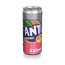 Fanta  Grapefruit  Roz Zero Грейпфрукт 330ml Румыния (6шт-упак)