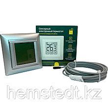 Терморегулятор SDF-421H программируемый серебро