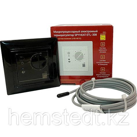 Терморегулятор ETL-308B черный, фото 2