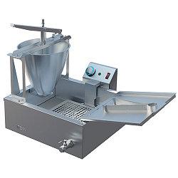 Аппарат пончиковый Гольфстрим-1/1М-2 (770х505х550, 200 пончиков/ч, на 8л масла, ванна 16л, дозатор для теста 6