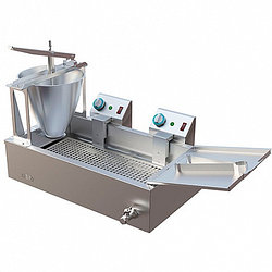 Аппарат пончиковый Гольфстрим-2М-2 (970х505х550мм, 300 пончиков/ч, на 10 л масла, ванна 23 л, дозатор 6 л., 7,