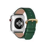 Ремешок Apple Watch 40-42mm Unbranded Black, зеленый