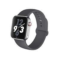 Спортивный ремешок Apple Watch 42мм Dark Grey Sport Band M/L