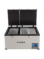 Автохолодильник Kyoda BCDS80, двухкамерный, объем 80 л, вес 30 кг ар.2357