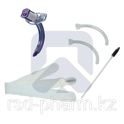 Трахеостомическая трубка Blue Line Ultra 6,0 мм без манжеты, в наборе  с двумя внутренними канюлями, фото 2