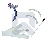 Трахеостомическая трубка Blue Line Ultra 6,0 мм без манжеты, в наборе с двумя внутренними канюлями