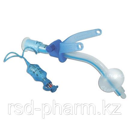 Трахеостомическая трубка   с манжетой с регулируемым положением фланца трубки 7,0, фото 2