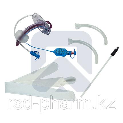 """Трахеостомическая трубка Blue Line Ultra 8,5 мм с манжетой """"Софт Сеал"""", каналом для санации надманжеточного, фото 2"""