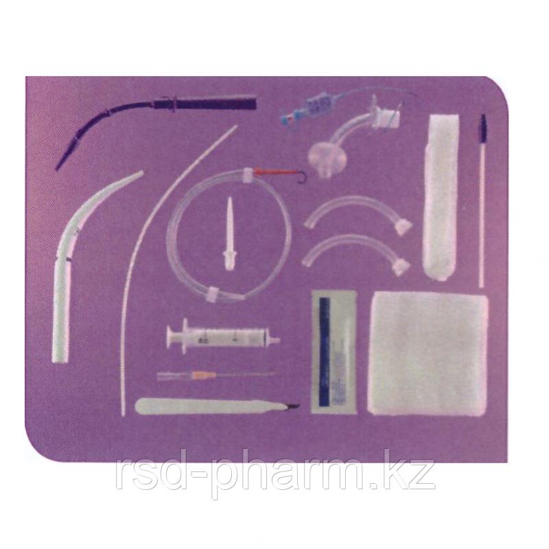 Набор для чрезкожной трахеостомии Ultra Perc и трахеостомической трубкой Suctionaid 9мм каналом для - фото 1