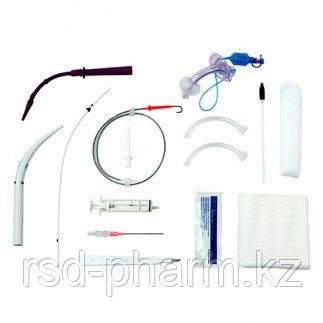 Набор для чрезкожной трахеостомии Ultra Perc и трахеостомической трубкой Suctionaid 9мм каналом для - фото 2