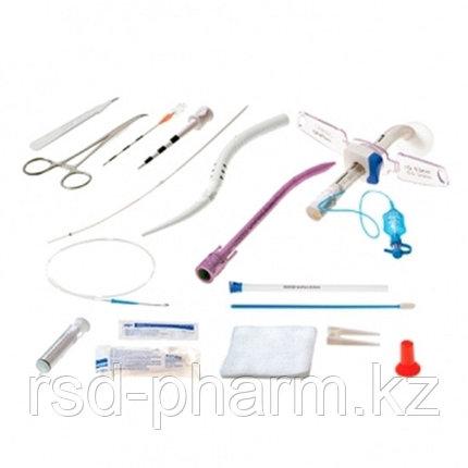 Набор для чрезкожной трахеостомии  UniPerc 9,0мм с трахеостомической  трубкой с регулируемым положением фланца, фото 2