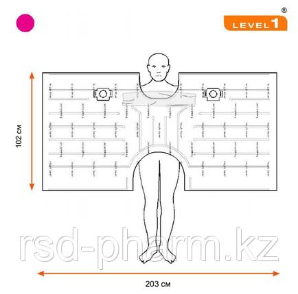 Одеяло Snuggle Warm, укрывное для взрослых, нестерильное, верхнее - 203.2 cm W x 101.6 cm L, фото 2