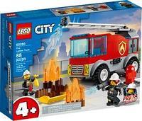 60280 Город Пожарная машина с лестницей