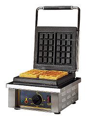 Вафельница Roller Grill GES20 (305х440х230мм,1,6кВт, 1 рабочая зона, прямоугол. 4х6)