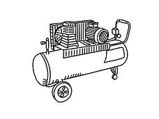 Воздушные компрессоры HYUNDAI
