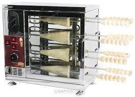 Аппарат для чешских трубочек - Печь для трдельников Airhot TM-8 (550x295x540 мм, 3,2 кВт, 220 В)