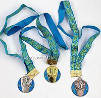 Спортивные наградные медали 2 место