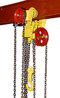 Таль ручная червячная передвижная ТРЧП  5,0 т 3 м