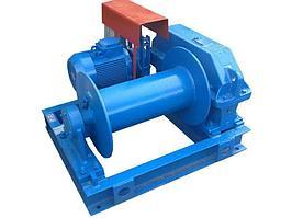 Лебедка маневровая электрическая ТЛ-7Б-1  г/п 4500 кг Н-250 м (без каната)