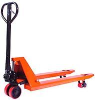 Тележка гидравлическая 2000 кг 1150 мм TOR JC  (полиуретановые колеса)