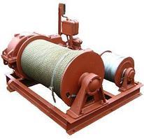 Лебедка маневровая электрическая ЛЭМ-8  г/п 500 кг H-350/700 м (без каната)