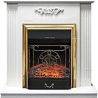 Каминокомплект Royal Flame Lumsden с очагом Majestic FX Brass